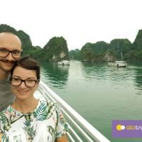 Halong trip with ALO Travel Asia