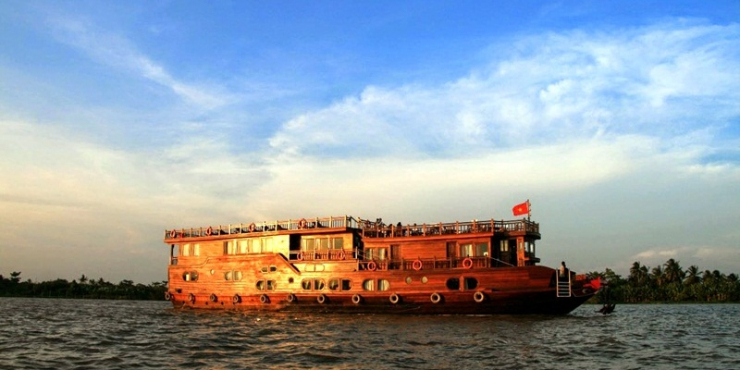 Gecko Eyes Mekong Delta Cruise