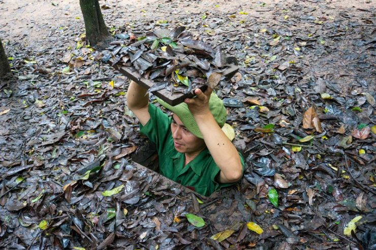 Cu Chi Tunnels – Group tour