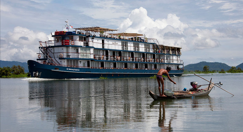 Jayavarman Mekong: Siem Reap – Phnom Penh