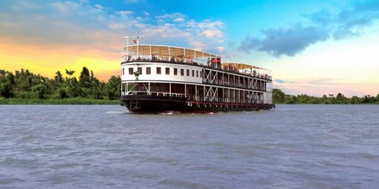 Jayavarman Cruise: Saigon – Phnom Penh