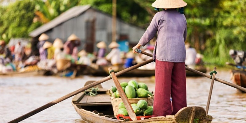 Mekong Delta: My Tho – Ben Tre – Can Tho