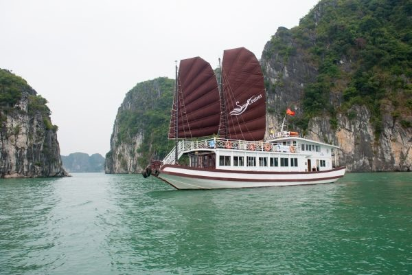 Halong day trip on Swan cruise