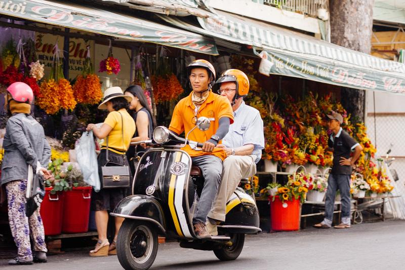 VESPA TOUR | Insider's Saigon Tour